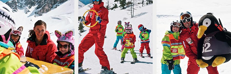 TOP-Obertauern_piste_unterricht_kinder